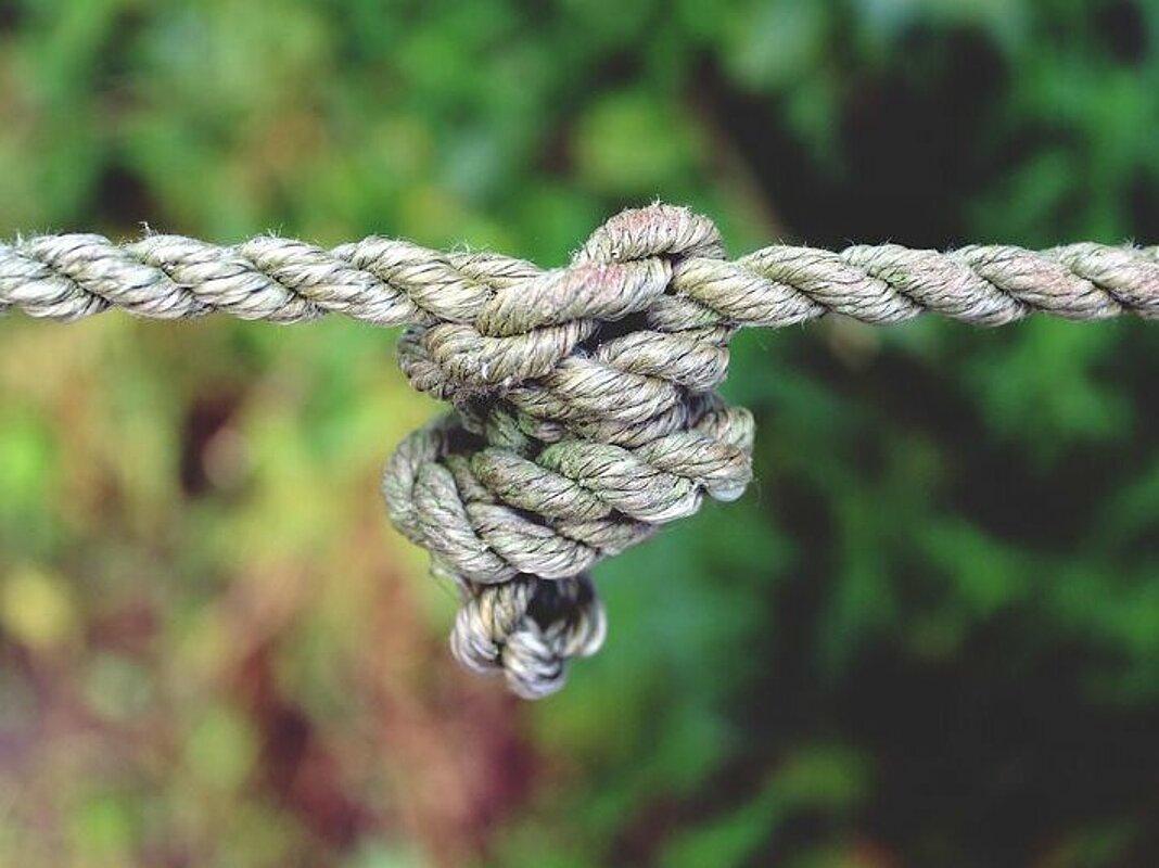 Knoten unterarm