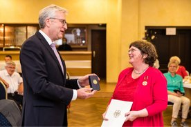 Michaela Fritsch Verleihung Bundesverdienstkreuz
