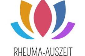 Rheuma Auszeit (bunte Lotosblüte) Lotos Ruhe für  Urlaub wegen Rheuma Liga rheumaliga